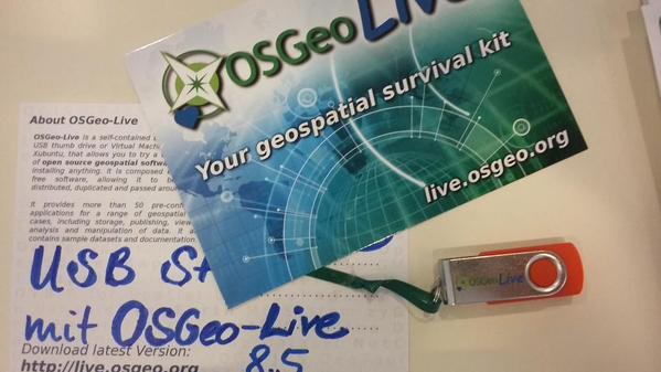 AGIT 2015 OSGeo-Live
