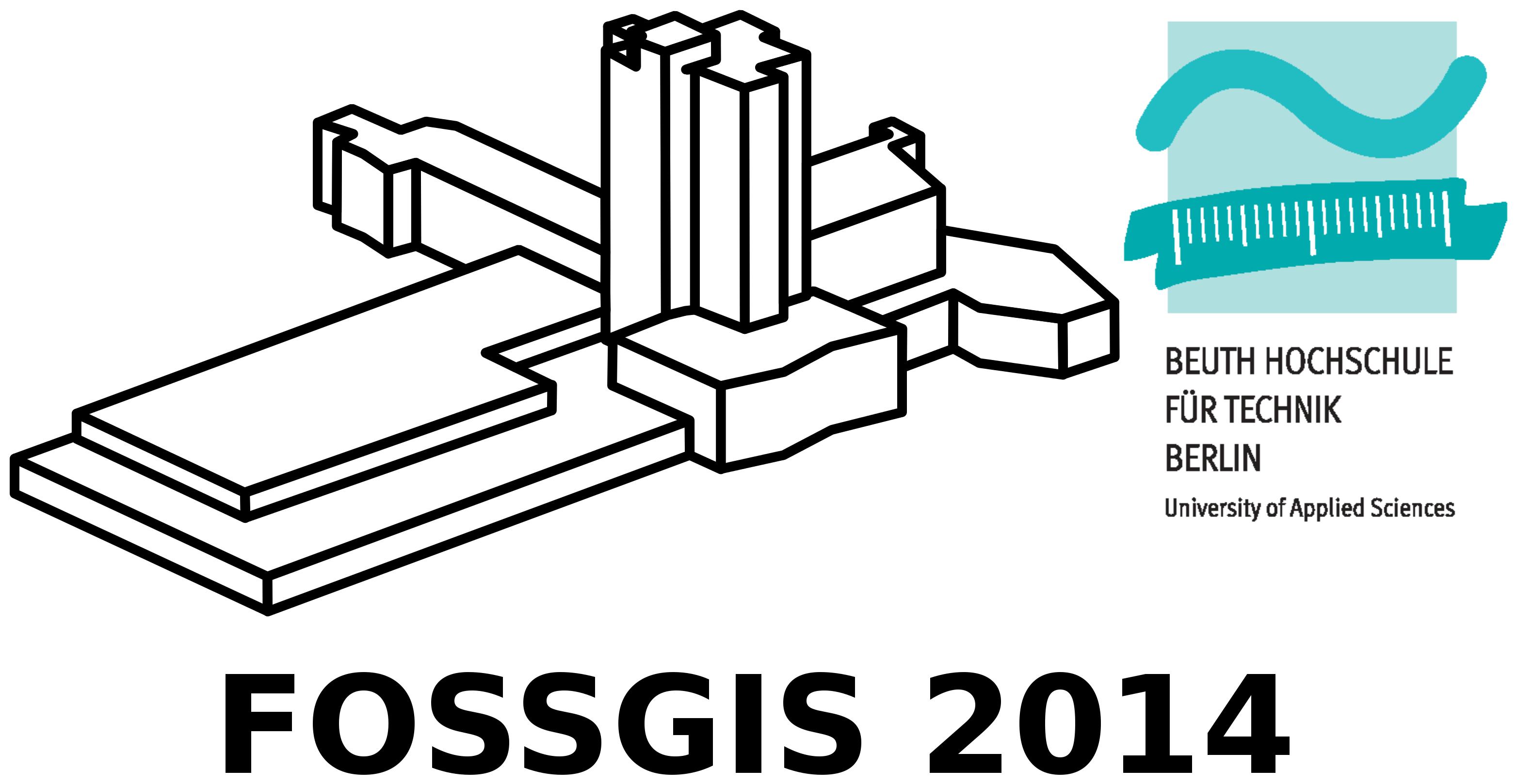 FOSSGIS 2014 Berlin an der Beuth Hochschule für Technik