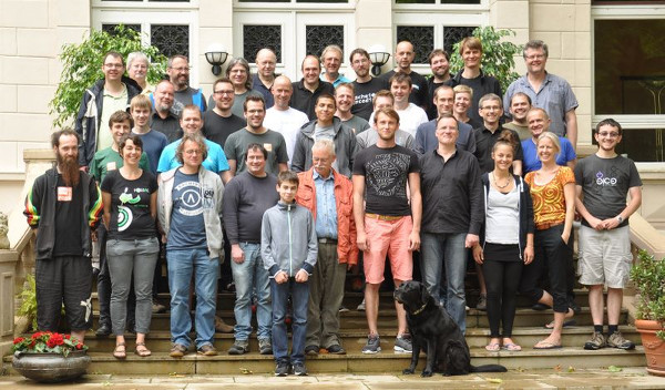 3. FOSSGIS Hacking 2015 und OSM Sommercamp im Linuxhotel